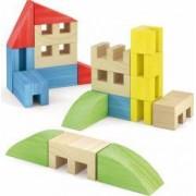 Joc Constructie Toytown 22 piese Quercetti