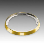 Distance ring for ARF 68 recessed light, gold look