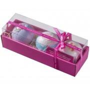 Set cadou pentru baie Bath Blasters Bomb Cosmetics 3 x 160 gr