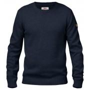 Fjällräven Övik Crew Sweater herrtröja Man Dark Navy