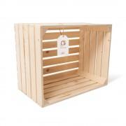 """Lădiță din lemn de brad 45 x 35 x 25 cm """"Greuceanu"""""""