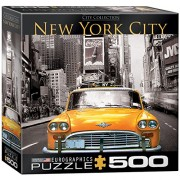 EuroGraphics New York City Yellow Cab Jigsaw Puzzle (1000-Piece)