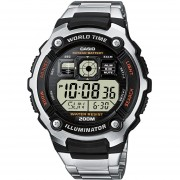 Reloj Casio Digital World Time 10Y AE-2000WD-1AV TIME SQUARE