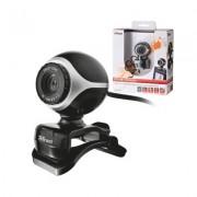WebCam TRUST Exis Webcam - Black/Silver - 17003