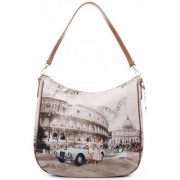 Y Not? Borsa Donna Y NOT Shopping a Spalla J-373 Life in Rome