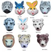 Állatos álarc polifoamból