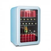 PopLife Frigorífico de bebidas Frigorífico 115 L 0-10°C Design retrô azul