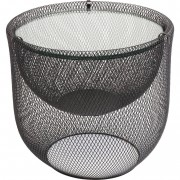 Kare Salontafel Grid Black