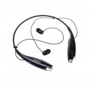 Audífonos Inalámbricos, HV800 Inalámbrico Cuello Audifonos Bluetooth Manos Libres 3.0 Auriculares Deportivos Auricular Auricular Estéreo Earbuds Auricular Con Micrófono (negro)
