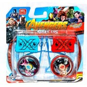 Vortex Toys Super Hero Beyblade Masters Fury Spinning Toy Avengers Them Fast Spin