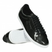 """Le Coq Sportif Charline Coated S Leather """"Black"""""""