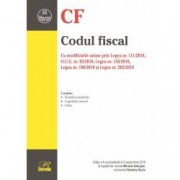 Codul fiscal. Cu modificarile aduse prin Legea nr. 1112018 O.U.G. nr. 632018 Legea nr. 1452018 Legea nr. 1982018 si Lege
