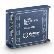 Palmer PLS 02 Line-Splitbox 1 auf 3 2x Trafo 1:1