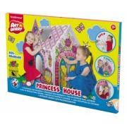 Casute pentru joaca, de colorat, Princess House, ArtBerry ErichKrause