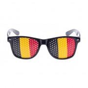 Merkloos Verkleed bril met Belgische vlag