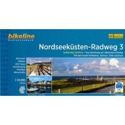 Fietsgids Bikeline Nordseekusten radweg 3 NSCR Duitsland   Esterbauer