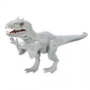 Jurassic Park World Chomping Indominus Rex Figure For Kids - Grey