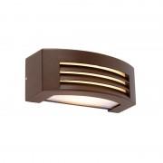 QAZQA Modern wall lamp rust brown IP44 - Hurricane 1