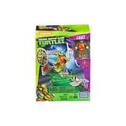 Mega Bloks Tartarugas Ninja Animation Conjunto Treinamento - Leonardo- Mattel