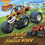 Stripes and the Jungle Horn (Blaze and the Monster Machines), Paperback