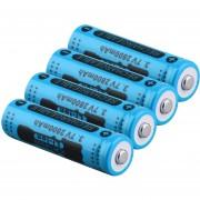 EH GIF 2800mAh Batería 14500 Azul 4 Cargado