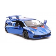 "Flying Toyszer Lamborghini Sesto Elemento 5"" 1:38 Scale Diecast Model Car Door Openable and Pull Back Action"
