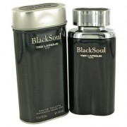 Black Soul For Men By Ted Lapidus Eau De Toilette Spray 3.4 Oz