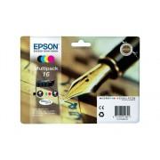 Epson Pack ahorro cartuchos de tinta original EPSON 16, Bolígrafo y crucigrama, C13T16264022, T1626
