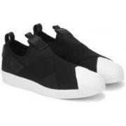 ADIDAS ORIGINALS SUPERSTAR SLIPON W Sneakers For Women(Black, White)