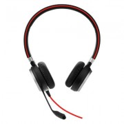 HEADPHONES, Jabra EVOLVE 40 MS Duo, Noise Cancelling, Microphone, Black (6399-823-109)