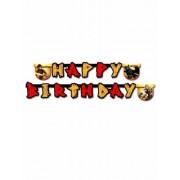 Guirlanda Happy Birthday ¿Cómo entrenar a tu dragón? 200 x 16 cm Única