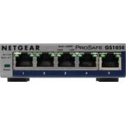 Switch Netgear GS105Ev2 ProSafe Plus 5-Port Gigabit