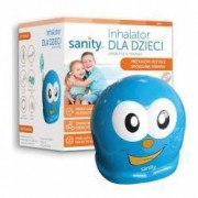 Aparat aerosoli Sanity Inhaler Kids nebulizator cu compresor pentru copii