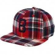 New Era Keps Boston Red Sox 9Fifty Spring Plaid Snapback - New Era