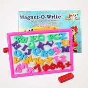 TRIPPLE ESS Learn & Write 2 in 1 Magnetic & Writing Board Multi Color (board for learning with fun)