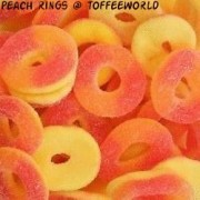 Appletons Mini Peach Rings Jelly Sweets