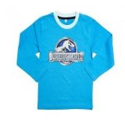 Jurassic World, långärmad t-shirt (4 år - 104 cm, Svart)