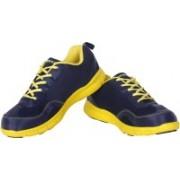 Nivia Escort Running Shoes For Women(Navy, Yellow)