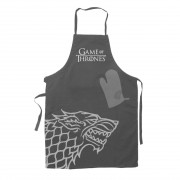 SD Toys Game of Thrones cooking apron with oven mitt Hear Me Roar House Stark