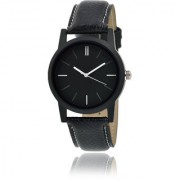MF New Design Popular Black Leather Strap Kids And Boys Watch