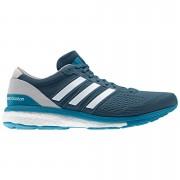 adidas Men's adizero Boston 6 Running Shoes - Blue/Grey - US 11/UK 10.5 - Blue/Grey