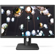 "Monitor AOC 22E1Q, 21.5"", Full HD, 5 ms, 60 Hz, HDMI, DisplayPort, VGA, Negru"
