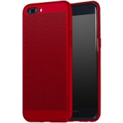 Protectie spate Senno Rock Slim Air Plastic pentru OnePlus 5 (Rosu)