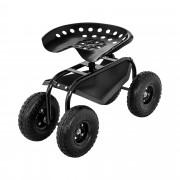 Garden Seat with Wheels - 150 kg