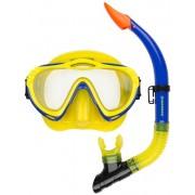 Waimea Cyklop med snorkel blå/gul - Barn
