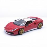 """Ferrari 488 gtb """"the lauda"""" 70th anniversary modellino bburago"""