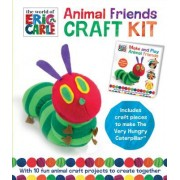 The World of Eric Carle Animal Friends Craft Kit: With 10 Fun Animal Craft Projects to Create Together