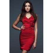 Greta sukienka (czerwony)