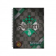 Caiet Harry Potter - Slytherin A4 Quidditch