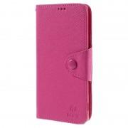 Capa tipo Carteira MLT para Sony Xperia Z5 Premium, Z5 Premium Dual - Rosa Choque